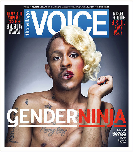 Mykki Blanco For Villiage Voice