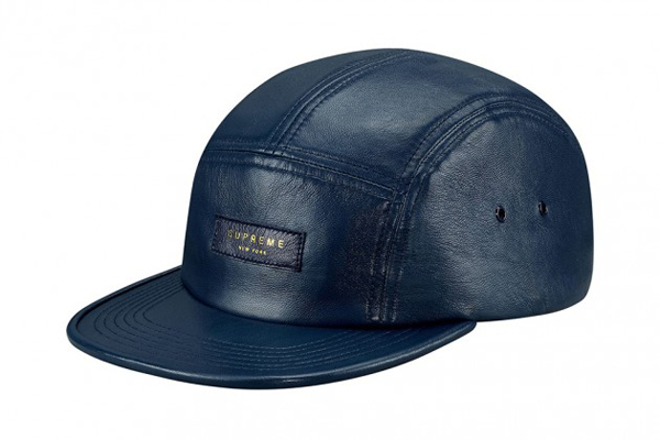 197f7b8b7ab1c Supreme Leather Camp Caps Spring Summer 2013