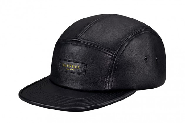 Supreme Leather Camp Caps Spring Summer 2013