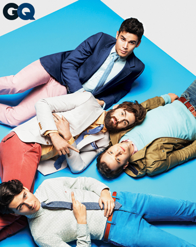 Vampire Weekend for GQ Magazine Wear It Now Fade Up