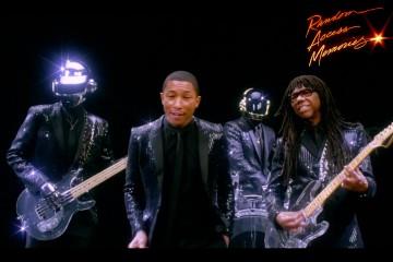 Daft Punk Pharrell Williams Nile Rodgers Get Lucky SNL