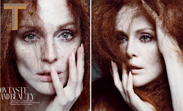 Julianne Moore for T Magazine Spring Design 2013-2
