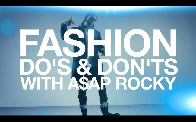 Fashion Dos and Donts With ASAP Rocky
