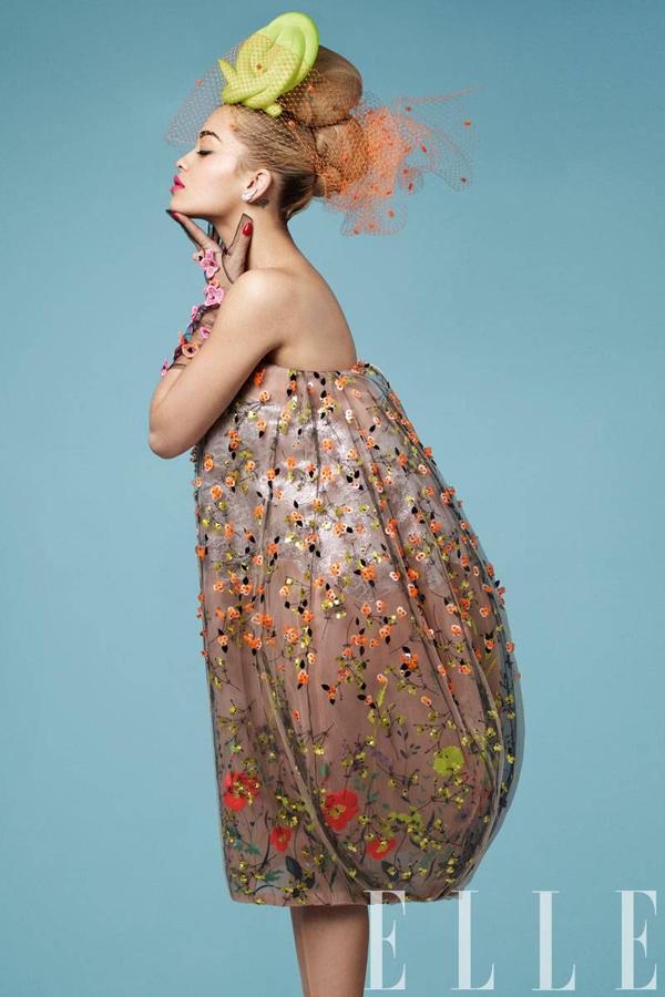 Rita Ora for ELLEs Women in Music Issue