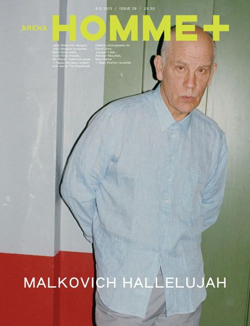 John Malkovich for Arena Homme+ SS 2013 by Juergen Teller
