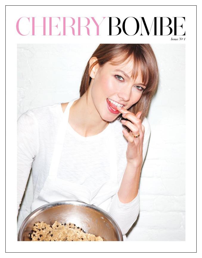 Karlie Kloss for Cherry Bomb Magazine