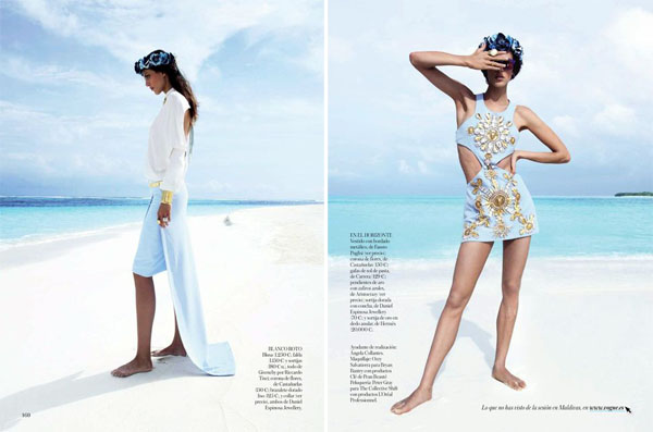 Aymeline Valade for Vogue Spain May 2013-5