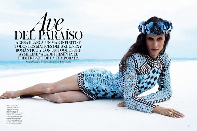 Aymeline Valade for Vogue Spain May 2013