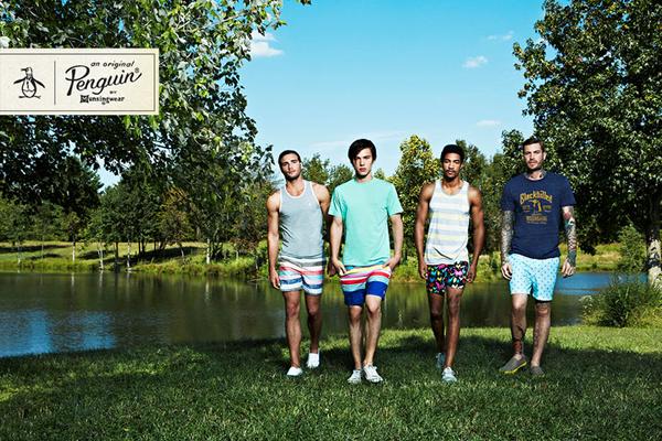 Original Penguin Spring Summer 2013 Campaign