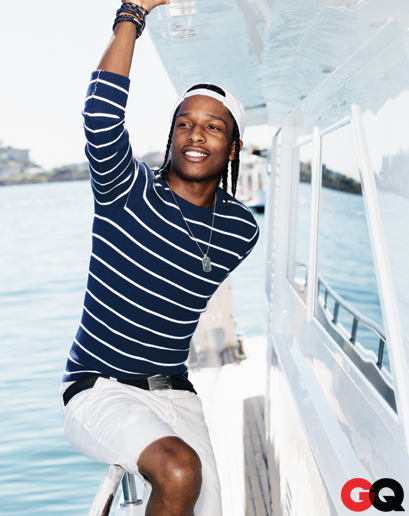 ASAP Rocky by Ben Watts for GQ May 2013