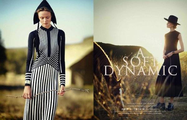 Frida Gustavsson for Vogue Japan June 2013-2