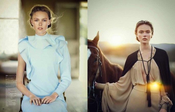Frida Gustavsson for Vogue Japan June 2013