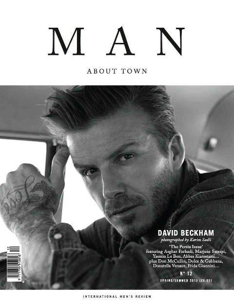 David Beckham for Man About Town Spring Summer 2013