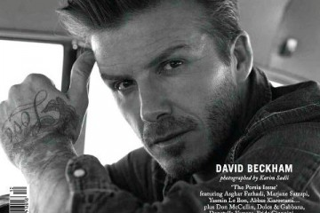 David Beckham for Man About Town Spring Summer 2013