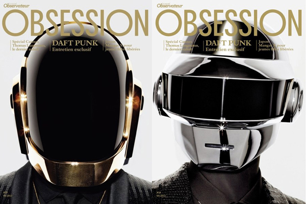 Daft Punk Cover Obsession Magazine May 2013 Issue