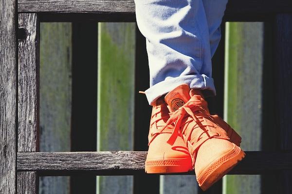 Sidewalk Hustle x Palladium Monochrome Lookbook-Bright Orange