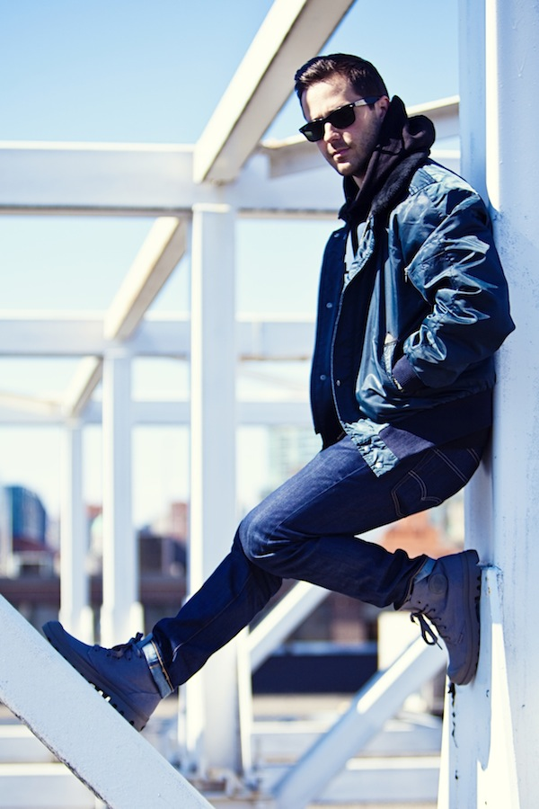 Sidewalk Hustle x Palladium Monochrome Lookbook-Dark Grey Full