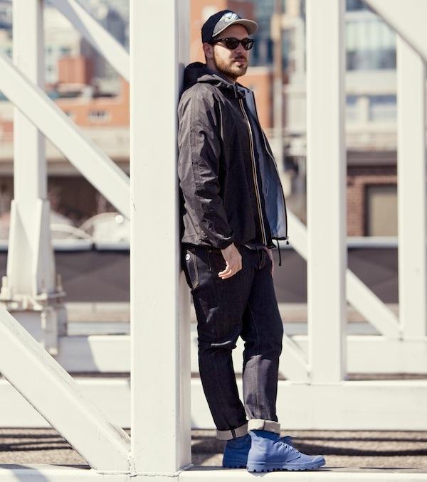 Sidewalk Hustle x Palladium Monochrome Lookbook-Dust Blue Full