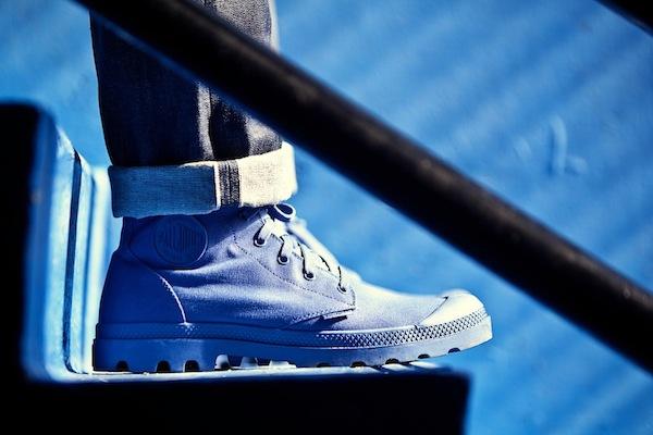 Sidewalk Hustle x Palladium Monochrome Lookbook-Dust Blue