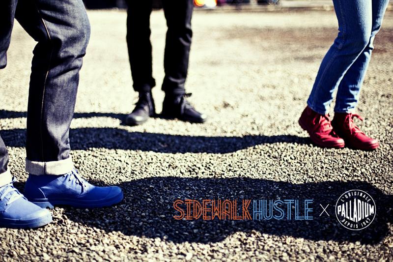 Sidewalk Hustle x Palladium Monochrome Lookbook