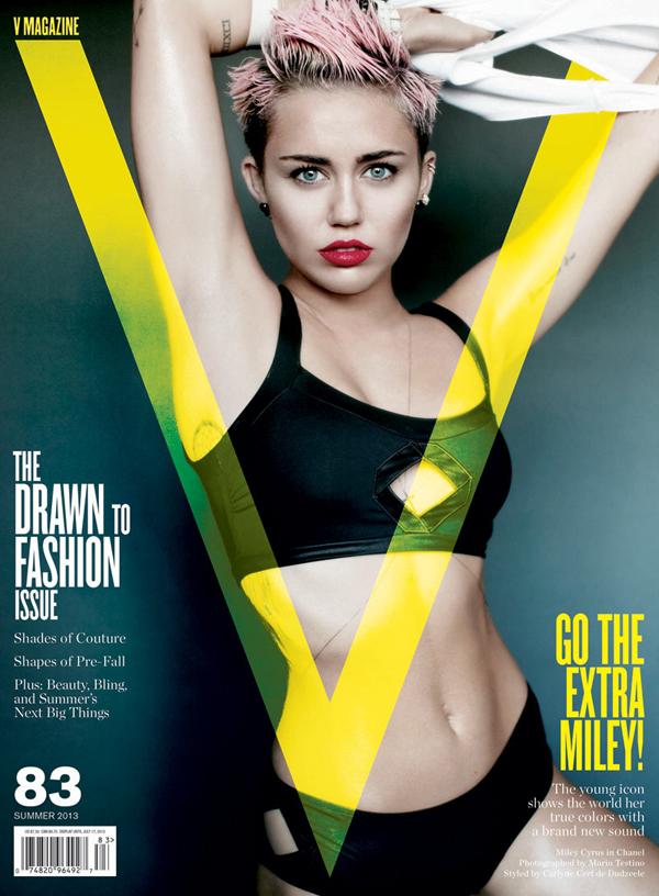 Miley Cyrus V Magazine 83 Cover 2