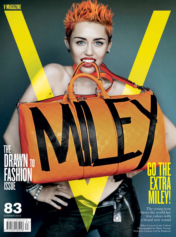 Miley Cyrus V Magazine 83 Cover 3