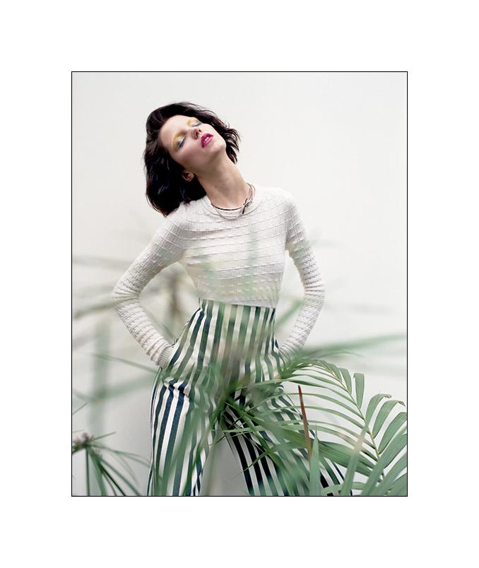 Agnes Nabuurs for Wonderland April May 2013