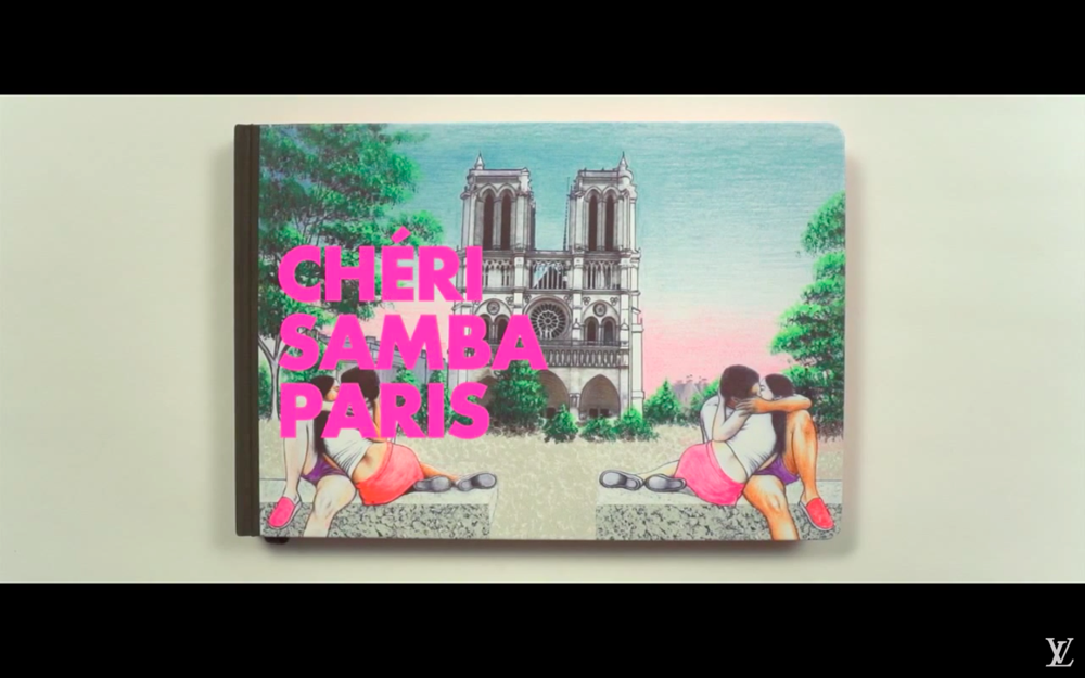 Cheri Samba Paris Louis Vuitton Travel Books 2013
