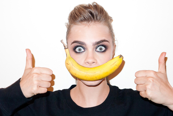 Cara Delevingne shot by Terry Richardson