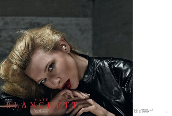 Cate Blanchett for 032c No.24 Summer 2013-2