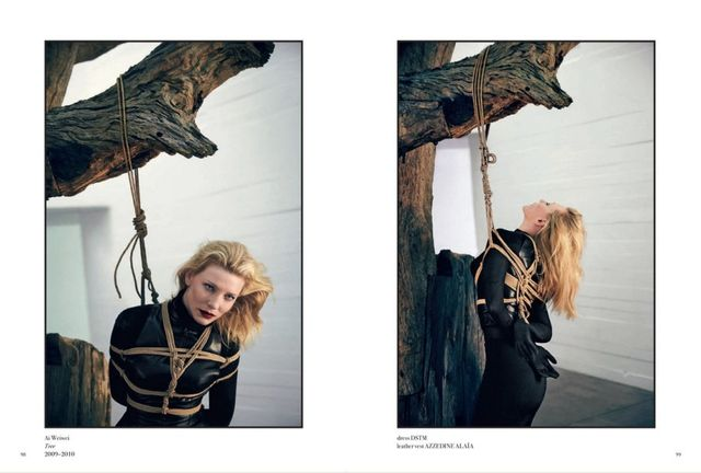 Cate Blanchett for 032c No.24 Summer 2013-4