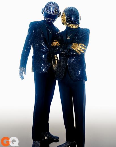 Daft Punk for GQ 2013