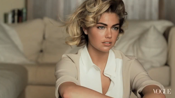 Kate Upton for Vogue Behind The Scenes Video