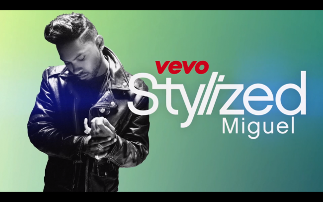 Miguel Visits Opening Ceremony VEVO Stylized
