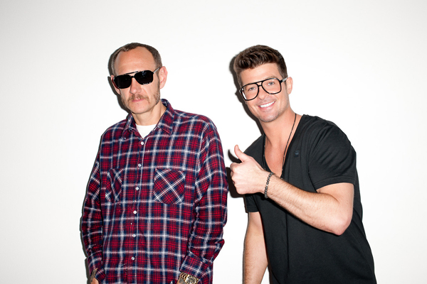 Robin Thicke Photographed by Terry Richardson