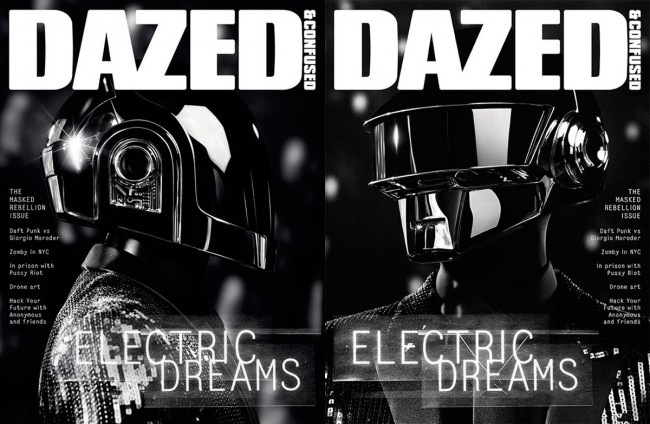 Daft Punk for Dazed Confused June 2013 Double Cover