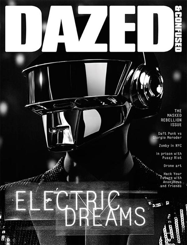 Daft Punk for Dazed Confused June 2013