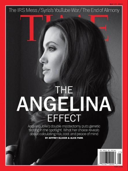 Angelina Jolie for TIME Magazine