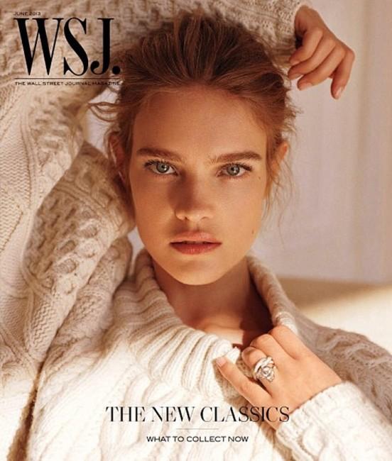 Natalia Vodianova for WSJ Magazine