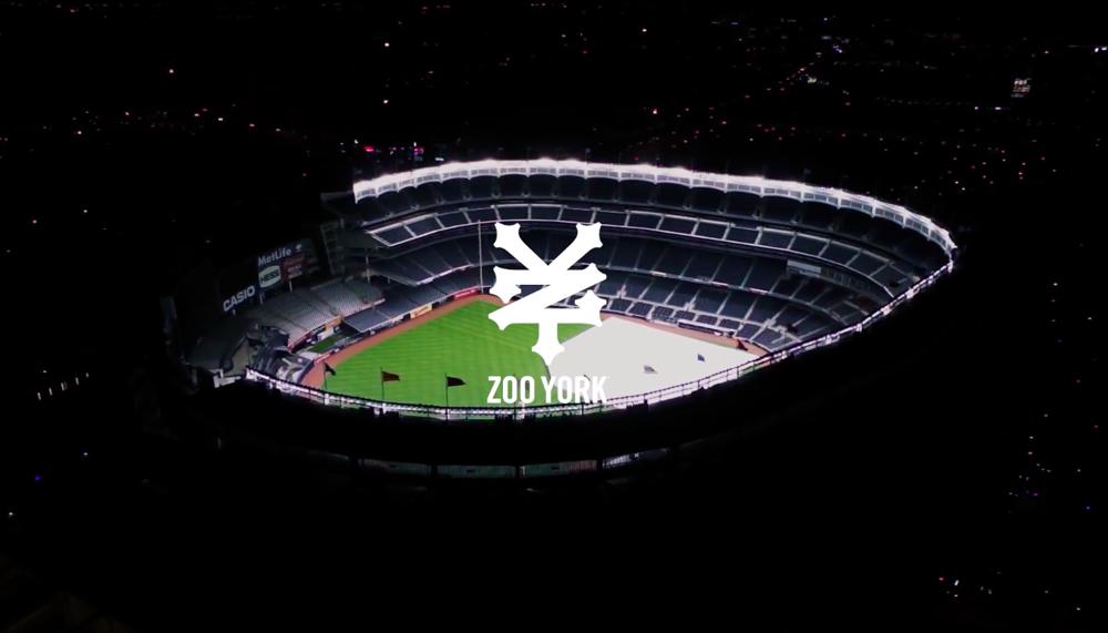 Zoo York in Yankee Stadium