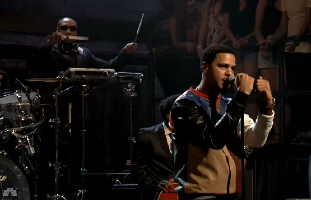 J Cole Power Trip on Late Night with Jimmy Fallon
