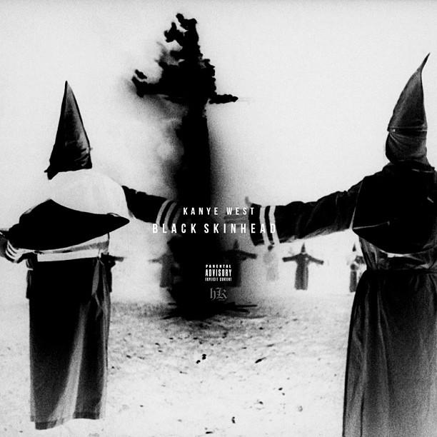 Kanye West Black Skinhead Album Art
