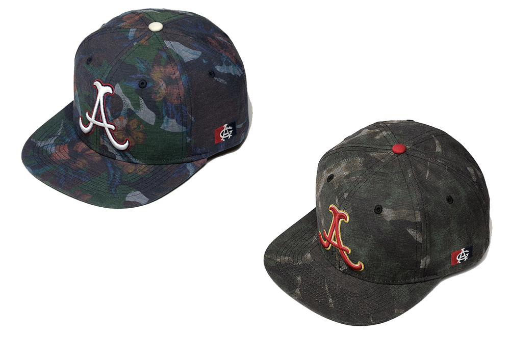 Acapulco Gold Double Trouble Snapback Floral and Leopard camo