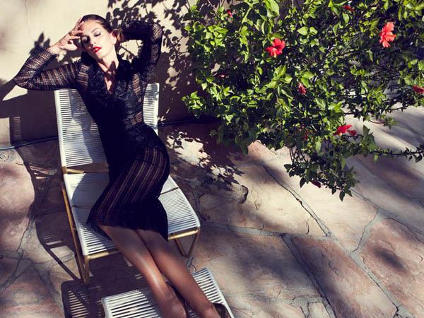 Cindy Crawford for Harpers Bazaar Spain June 2013 by Nagi Sakai