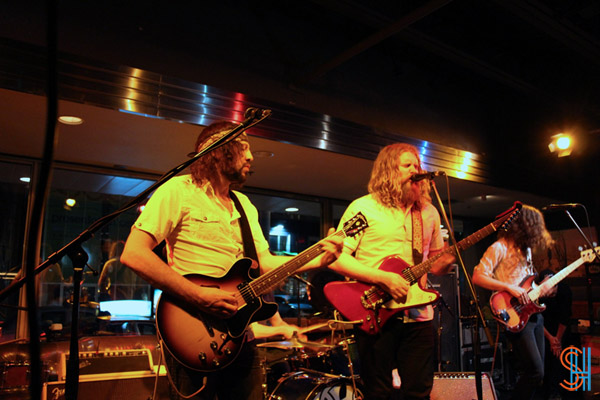 The Sheepdogs & The Treasures play Levi's 501 Anniversary Party at The Drake Hotel-6
