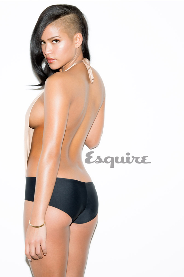 Cassie for Esquire June July 2013