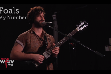 Foals perform My Number Live at WFUV