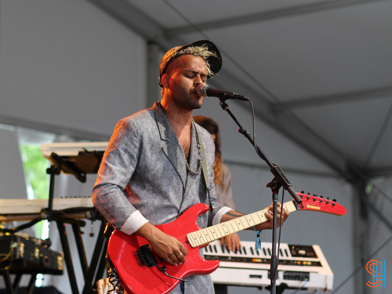 Twin Shadow at Governors Ball 2013