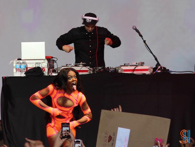 Azealia Banks Governors Ball 2013