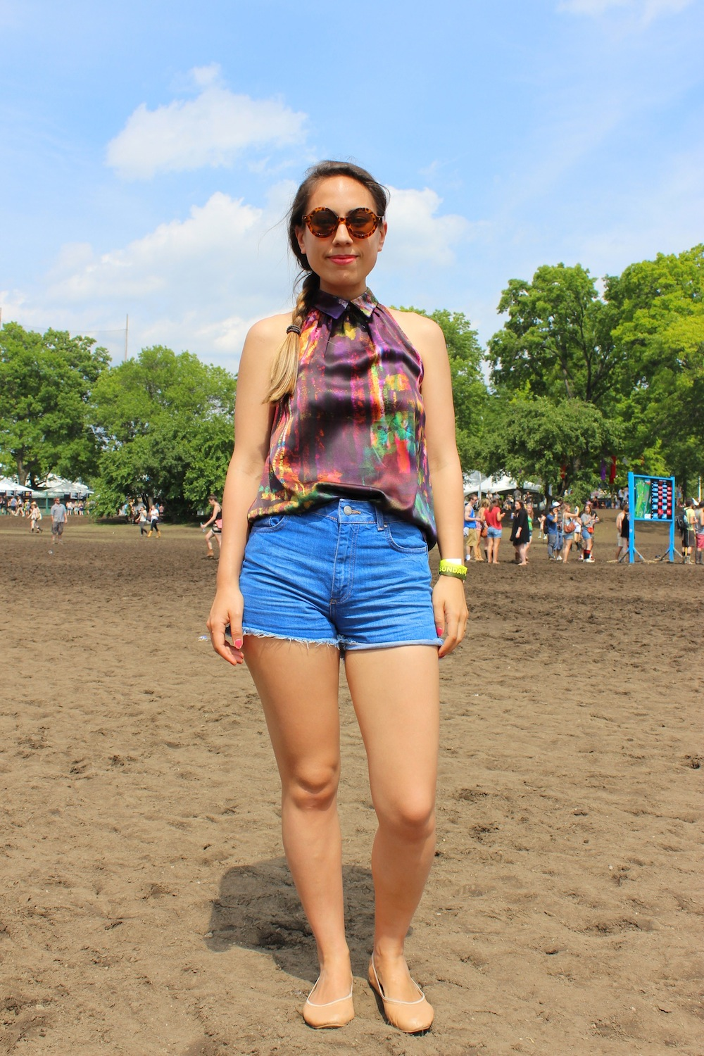 Corinne from London UK at Governors Ball 2013 Style